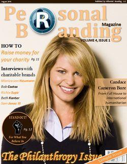 Philanthropy issue of Personal Branding Magazine